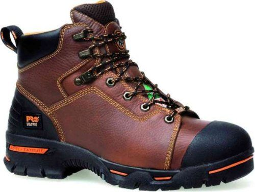 Timberland PRO 47591 Men's Endurance 6-in ST PR WP Boot Brown 6.5 W US
