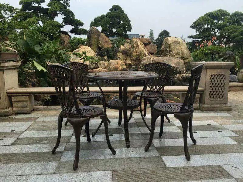 Restaurant Outdoor Metal Table Chairs Outdoor Restaurant