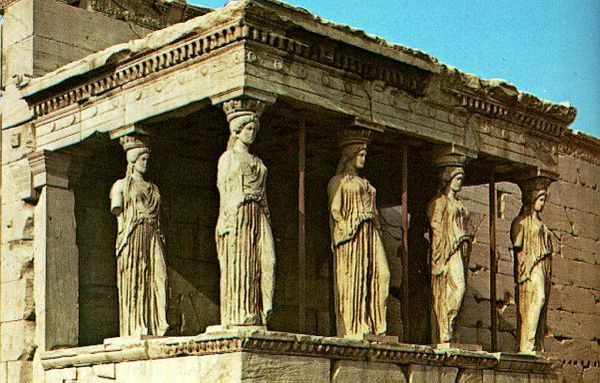 design dictionary: caryatid | parthenon, ancient greece and athens