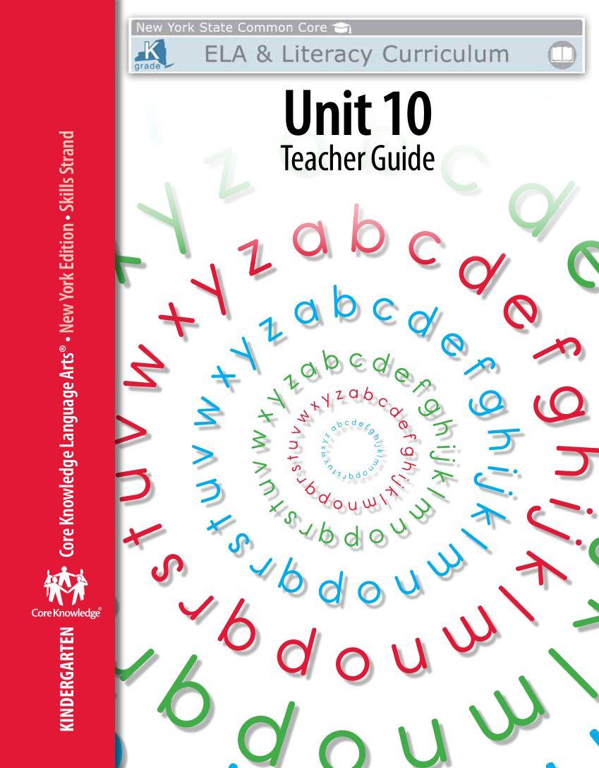 Kindergarten Skills Unit 10 Teacher Guide Kindergarten Skills Teacher Guides Kindergarten Skills Assessment [ 1087 x 849 Pixel ]