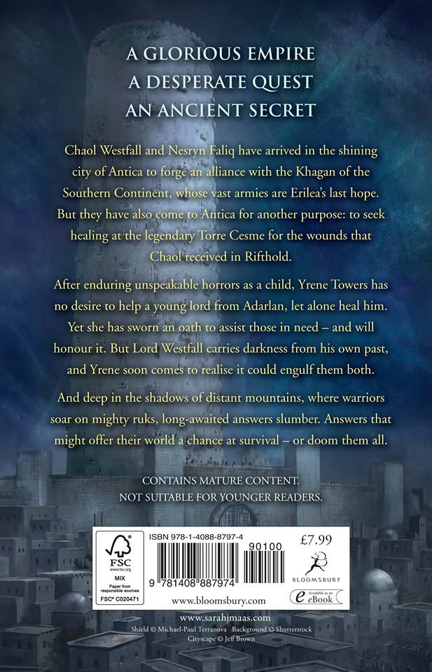 Tower Of Dawn S Blurb But The Important Question Where S Chaol