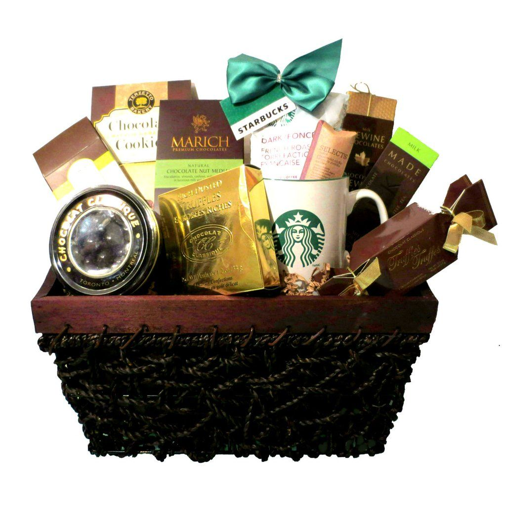 The Starbucks Coffee Gift Basket (With images) Starbucks