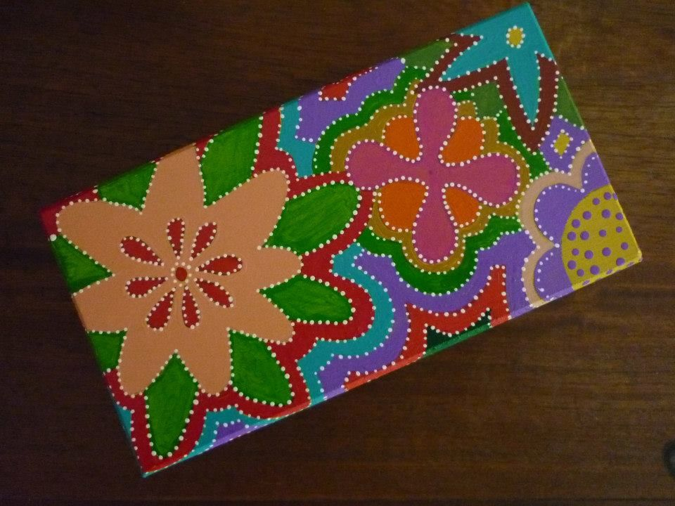 Cajita flores/ flower box