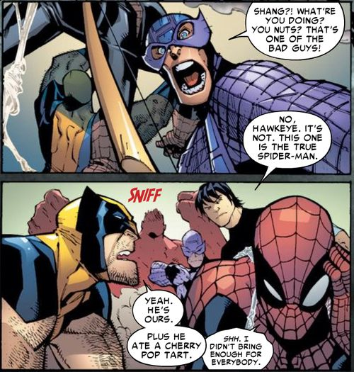 Free Comic Book Day Amazing Spider Man: MARVEL PANEL OF THE DAY From: Amazing Spider-Man (1999