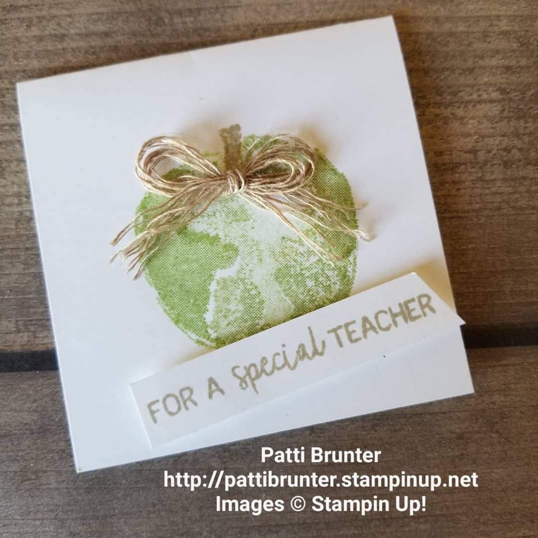 Stamp Set From Your Teacher Stampin/' Up