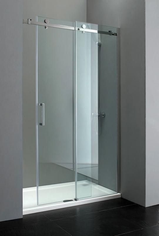 Sevilla Elite 1200mm Frameless Sliding Shower Door 8mm Glass Frameless Sliding Shower Doors Shower Doors Sliding Shower Door