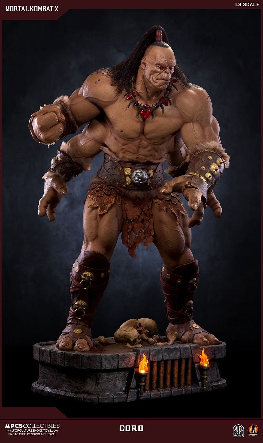 The long gestating Mortal Kombat X – Goro 1/3 Scale Statue