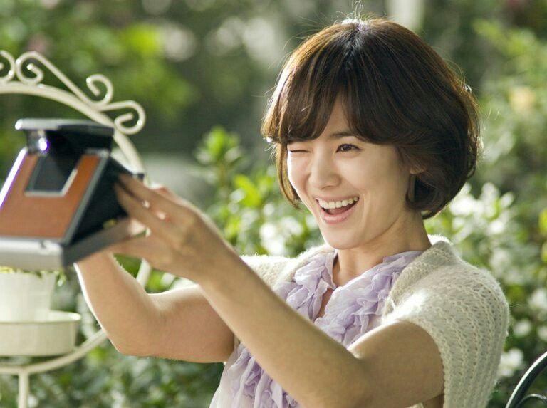 Beauty Song Hye Kyo | Korean short hair, Short hairstyles for women, Short hair styles