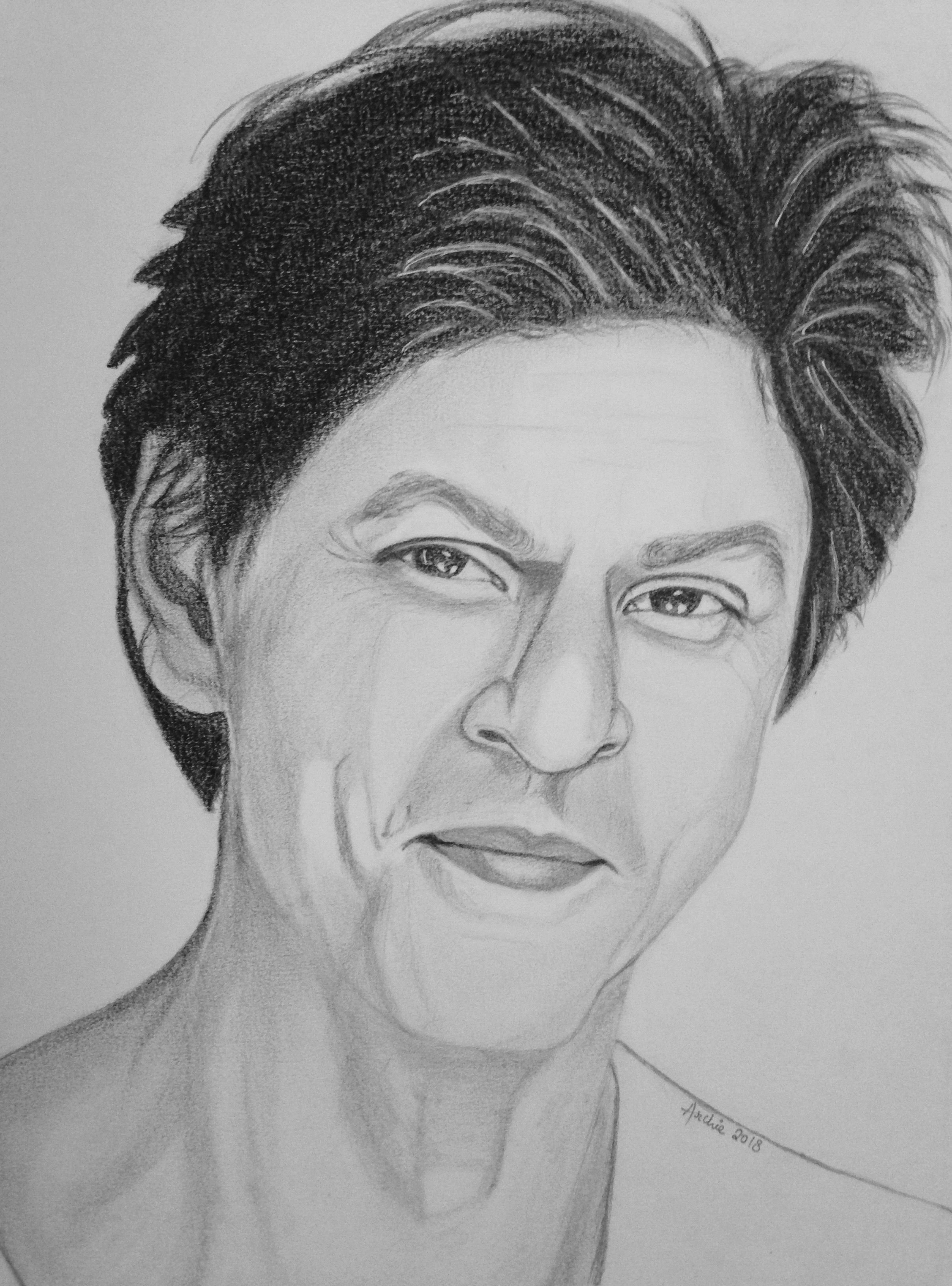 Shahrukh khan shahrukh khan art sketches portrait sketches art