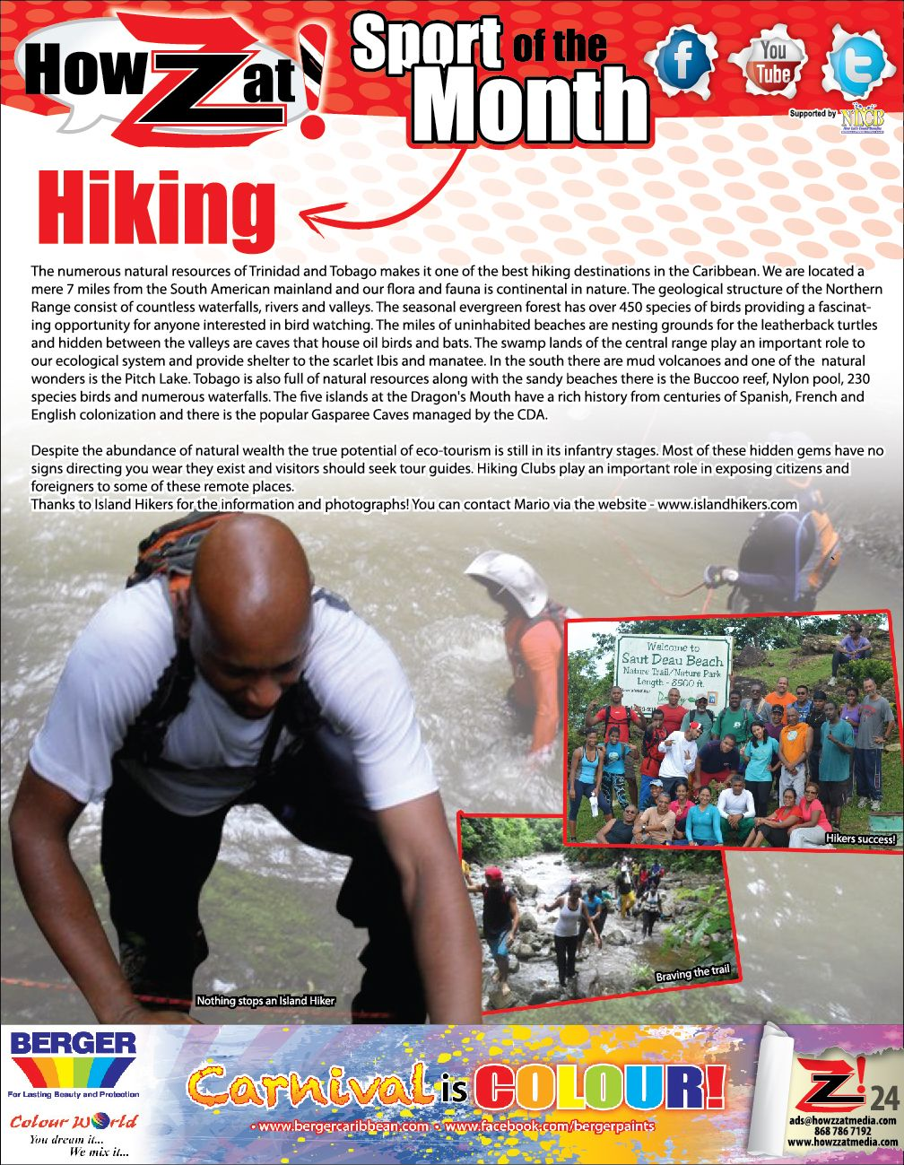 Sport of the Month Hiking Sports, Hiking, Geology
