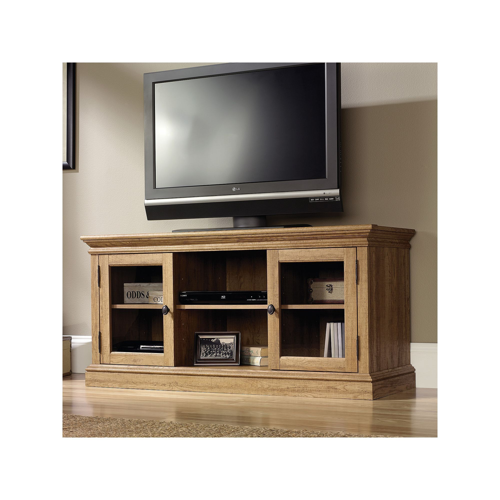 Sauder Barrister Lane Entertainment Tv Stand Products Pinterest