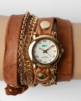 Wrap Watch: love.  could work for a steampunk outfit as well!
