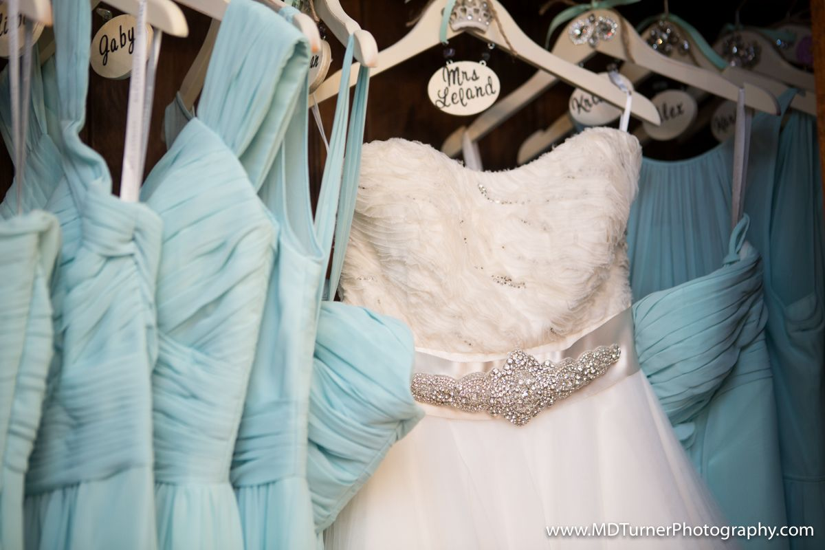 Bedazzled personalized hangers for bridesmaid and wedding dress ...