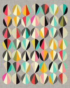 pinwheel print fabric - Google Search