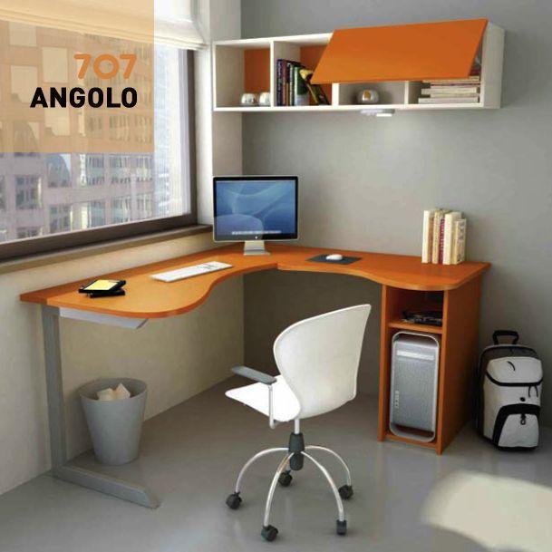 Image Result For Scrivania Angolare Angolo Cameretta Piccolo