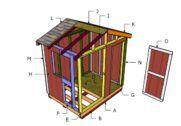 6x8 Ice House Roof Plans MyOutdoorPlans