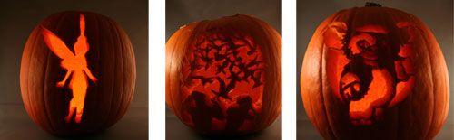 Pumpkin stencils - illistyle.com