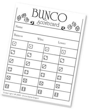 Bunco Score Sheets  Retro Design  Pad Of   Scores And Retro