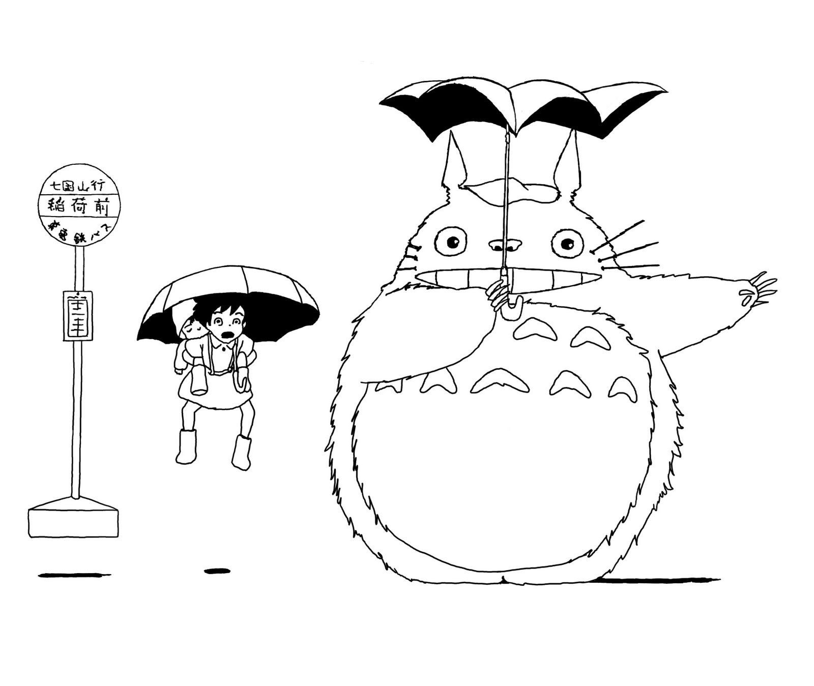 Картинки по запросу totoro coloring pages | Owl coloring ...