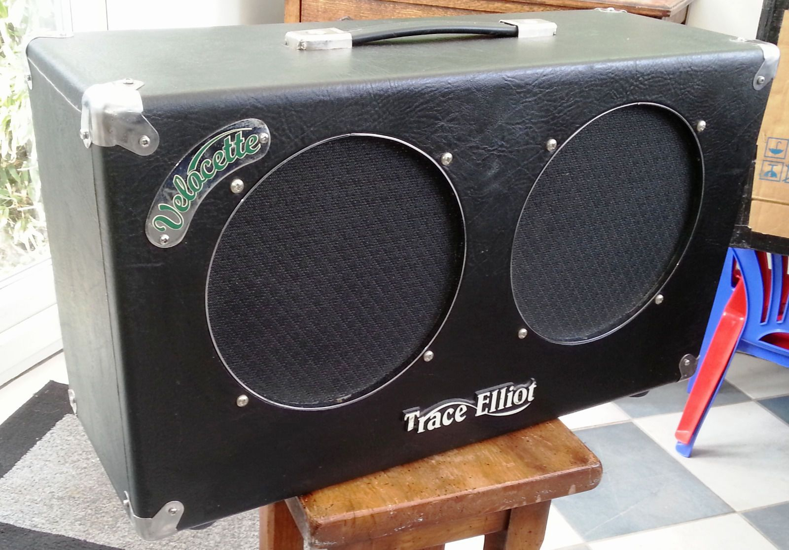 Trace Elliot Velocette Twin 2x10 combo – super rare all