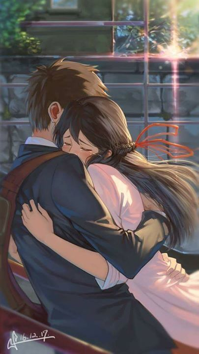 Photo of Your name, i love this movie !!! I wanted to see a scene like this !! …