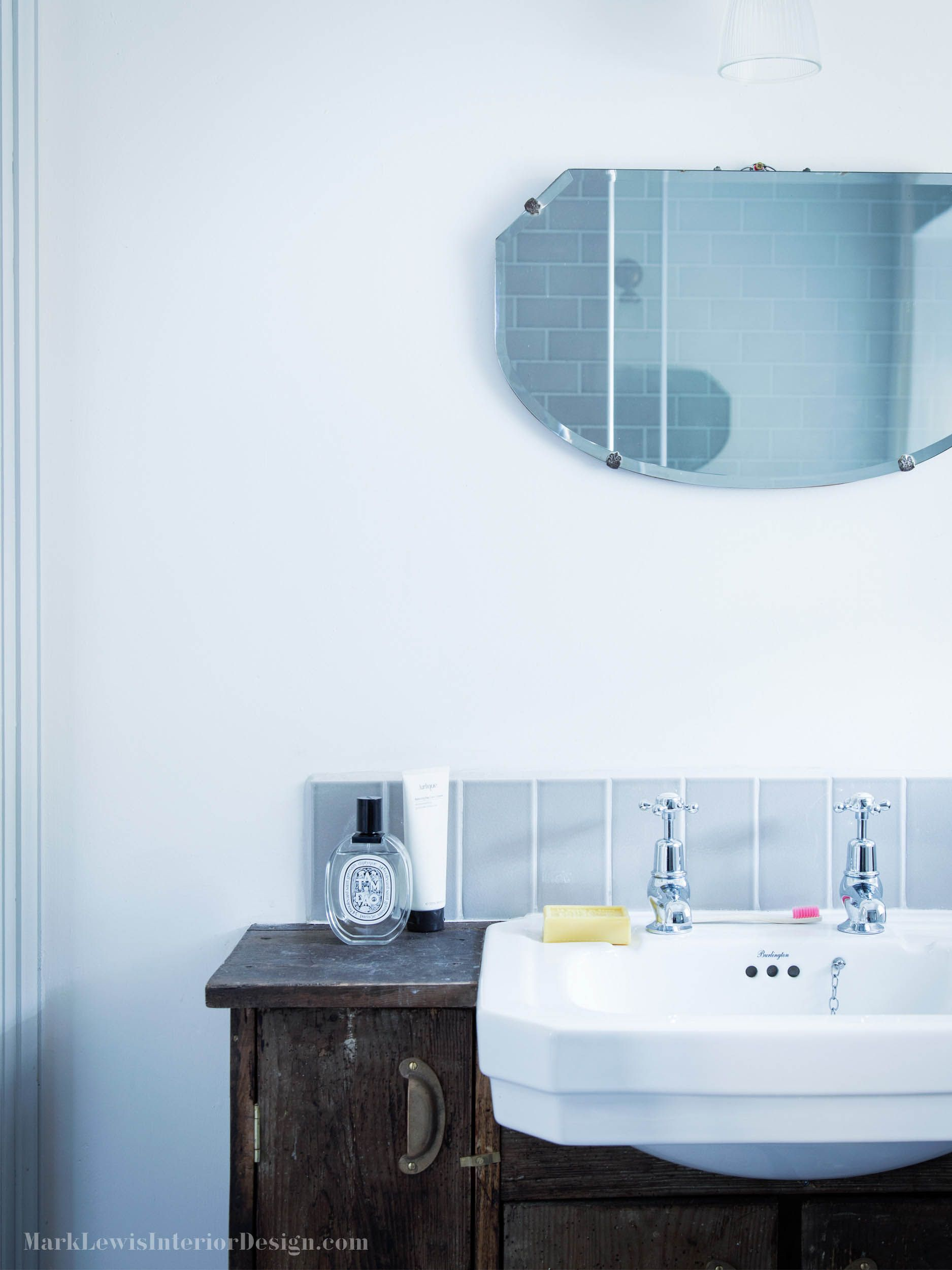 Mark Lewis Interior Design Dorset Bathroom
