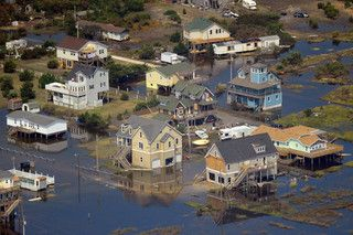 Coastal Flooding In Elizabeth City Nc Courtesy Of U S Coast Guard Elizabeth City Coast Guard Environmental Impact