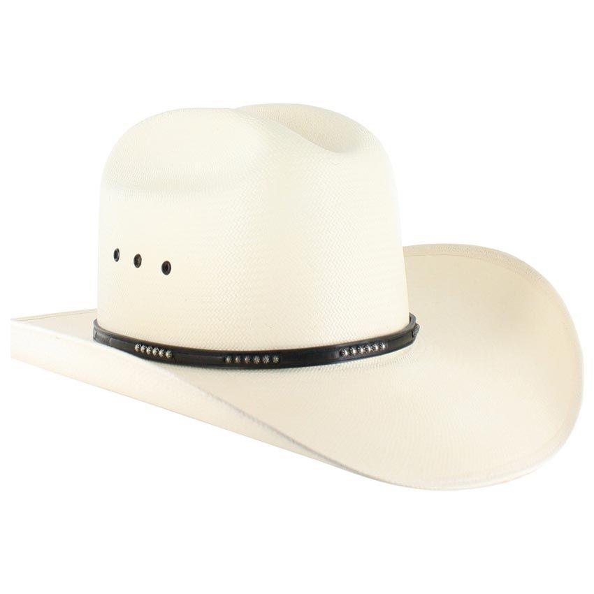 5ebb6f5f3 Stetson Llano 10X Straw Cowboy Hat