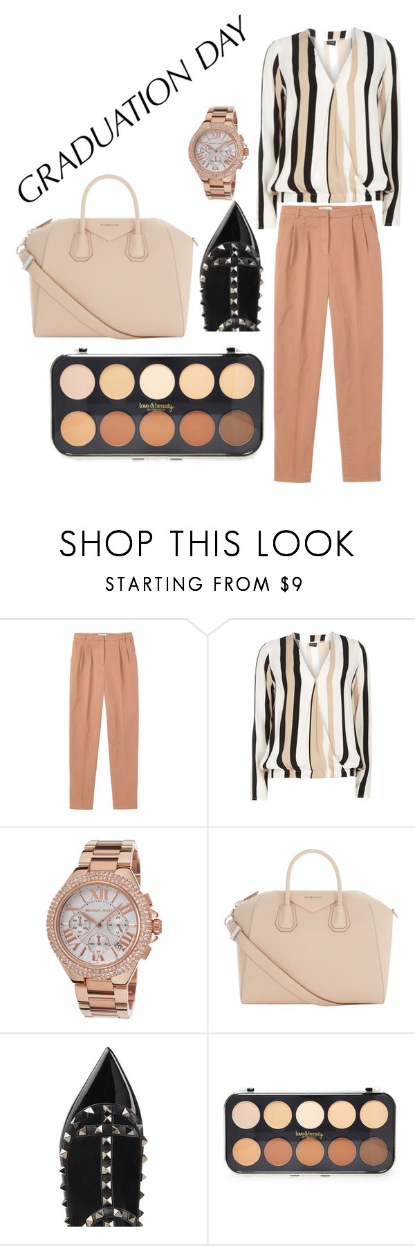 """""""Untitled #1"""" by roxana-cristina-1 ❤ liked on Polyvore featuring Toast, Dorothy Perkins, Michael Kors, Givenchy, Valentino, Forever 21 and graduationdaydress"""