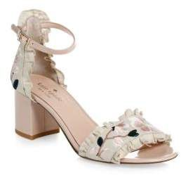 Kate Spade New York Patent Leather Multi-Strap Sandals cheapest price cheap online xpv2UMUH5z