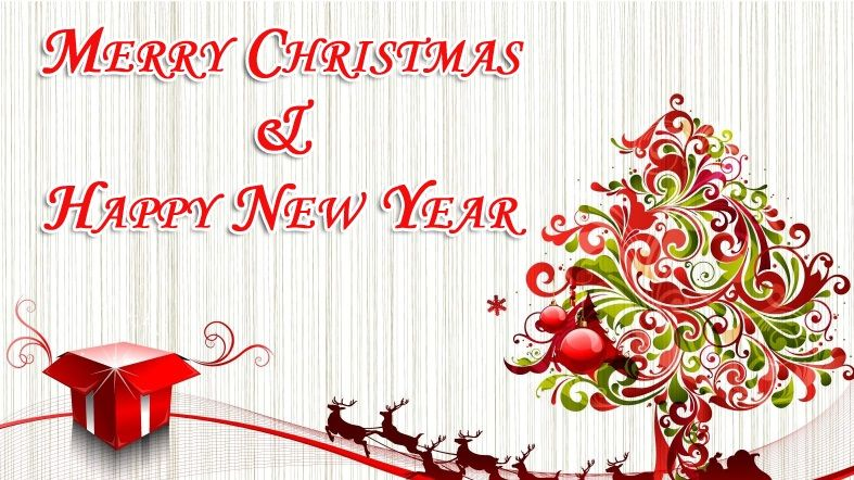 Merry Christmas And Happy New Year Images Beautiful Christmas Greetings Free Christmas Backgrounds Happy Merry Christmas