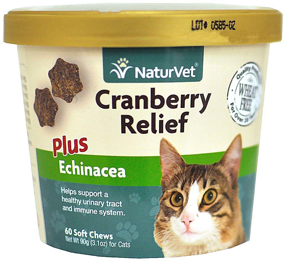 NaturVet Cranberry Relief Plus Echinacea for Cats 60