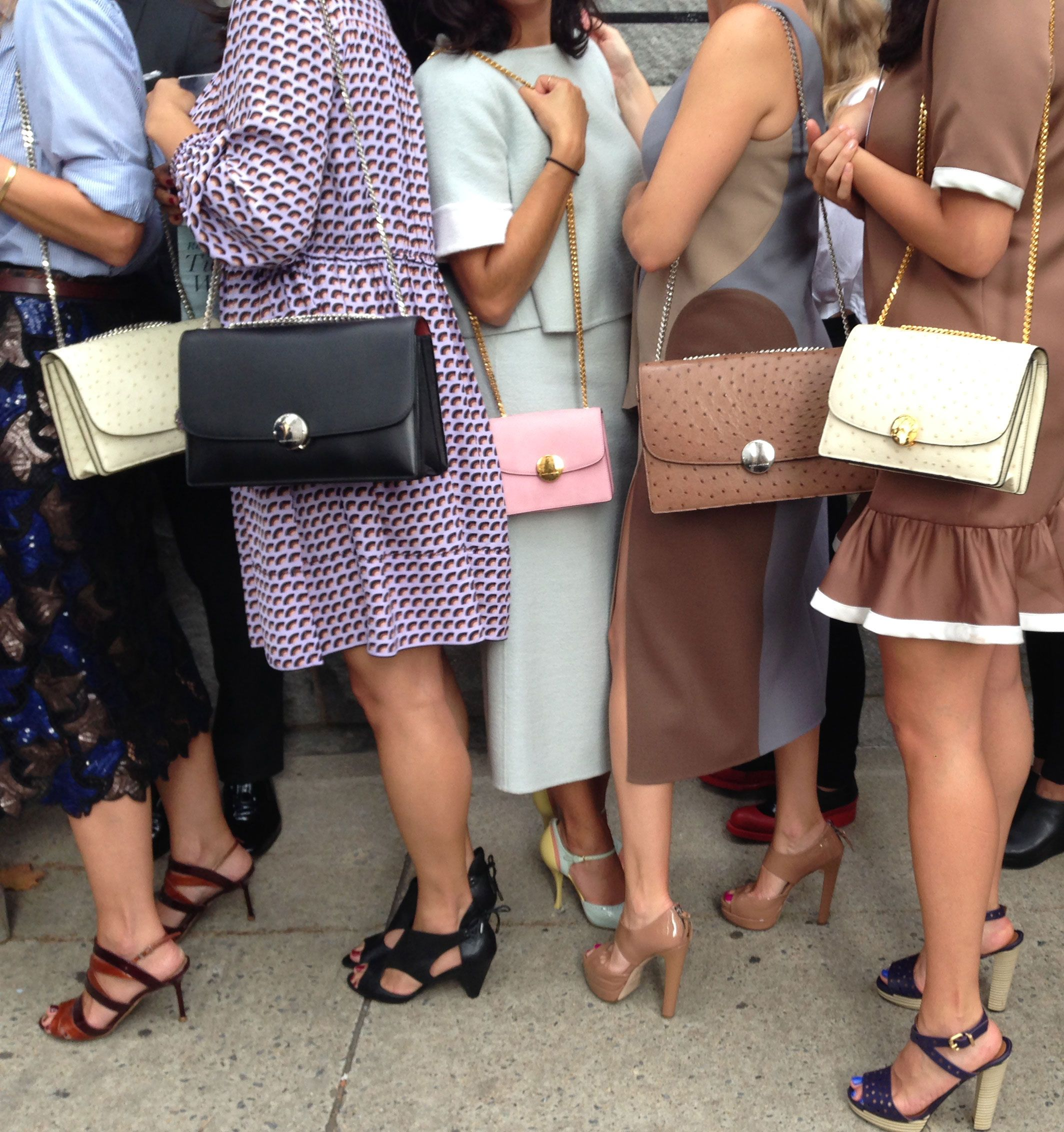 Outside Marc Jacobs Spring 2015 - Marc Jacobs Trouble