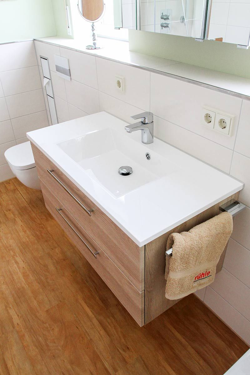 Badezimmer Waschbecken Bad Waschbecken Mit Unterschrank Und Handtuchhalter Waschbecken