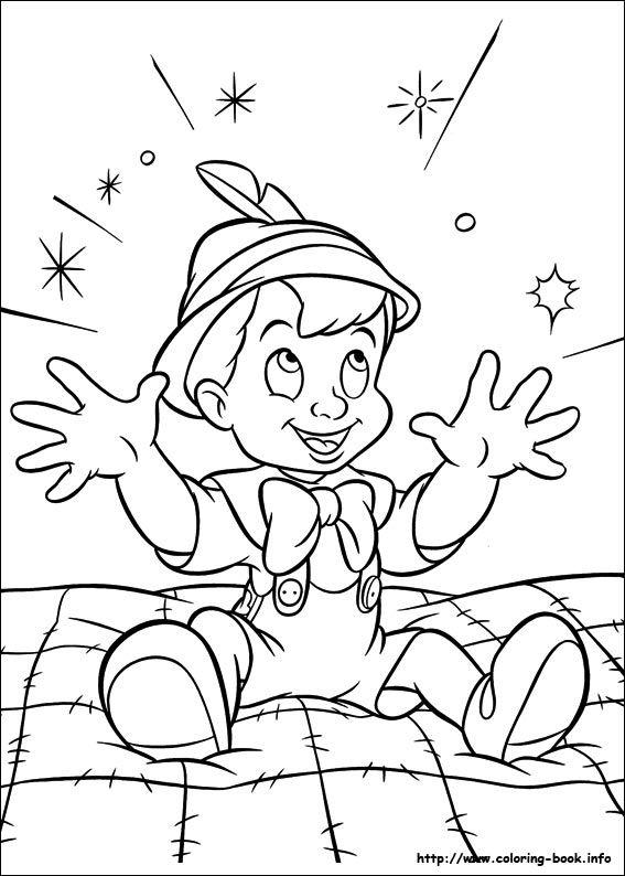 Pinocchio coloring picture | pinocho / pinocchio | Pinterest ...