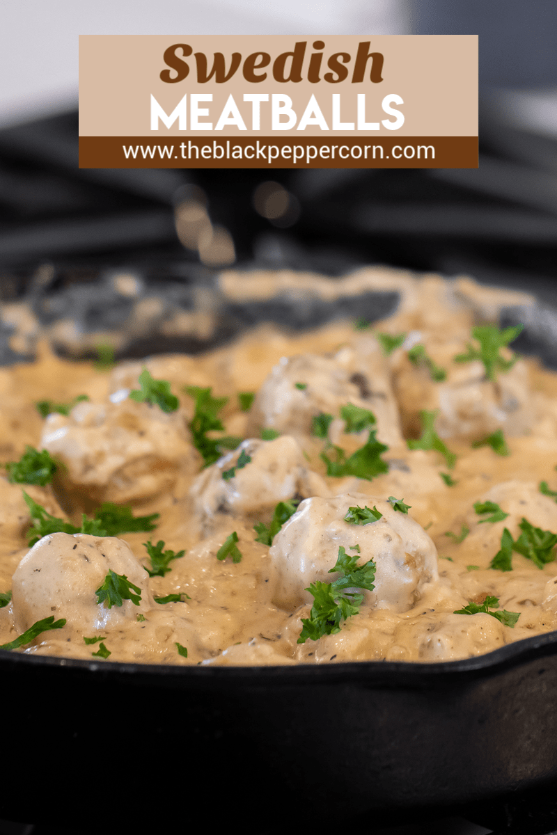 Make Classic Swedish Meatballs With Cream Of Mushroom Soup Milk And Sour Cream Great Wit Meatball Recipes Easy Swedish Meatball Recipes Mushroom Soup Recipes