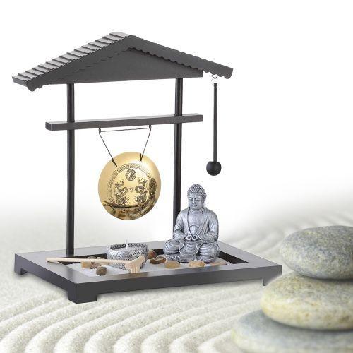 mini zen garten gong geschenke zum einzug zen g rten und zum einzug. Black Bedroom Furniture Sets. Home Design Ideas