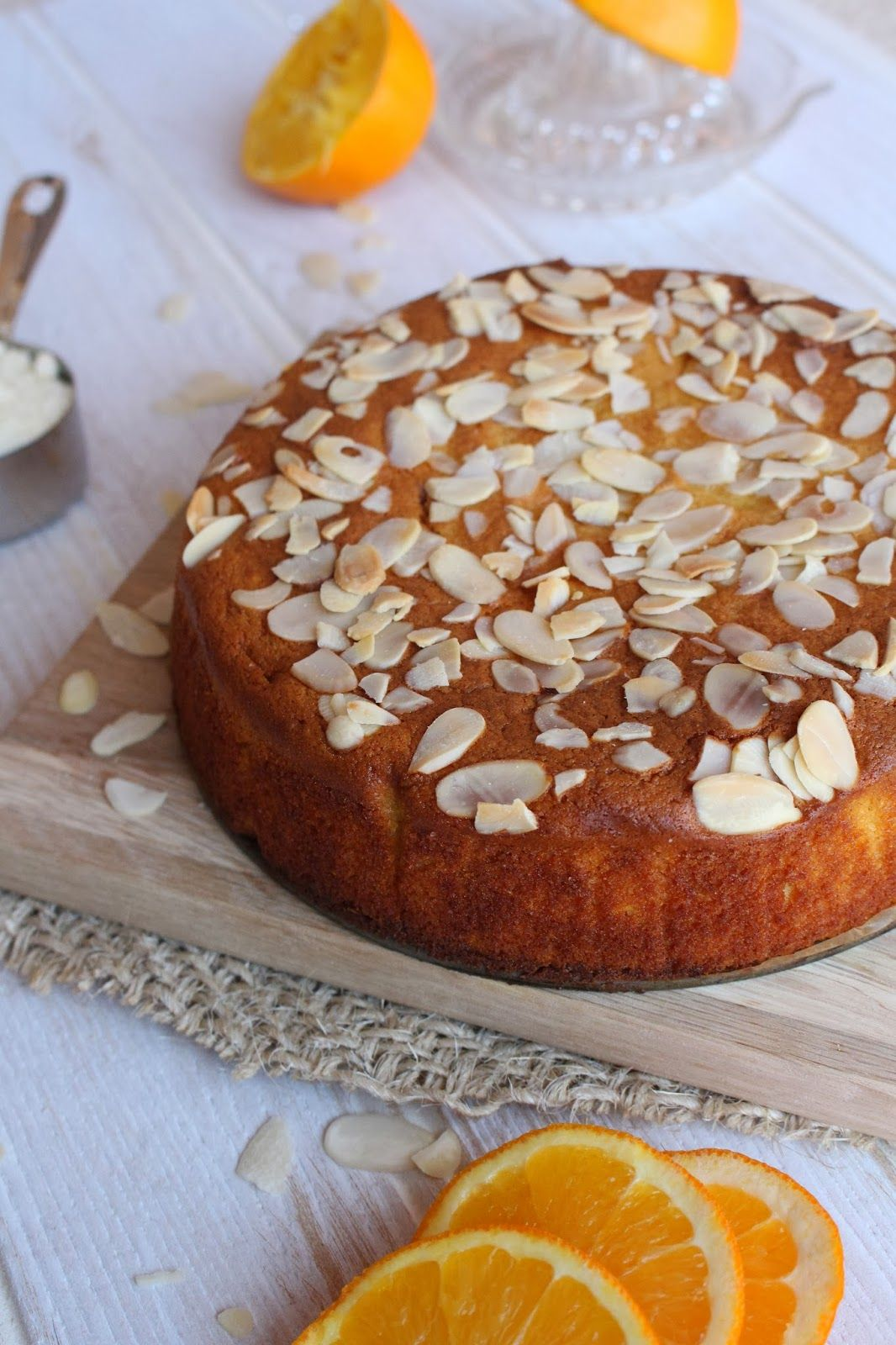 Spiced Flourless Orange Cake famished Pinterest Flourless