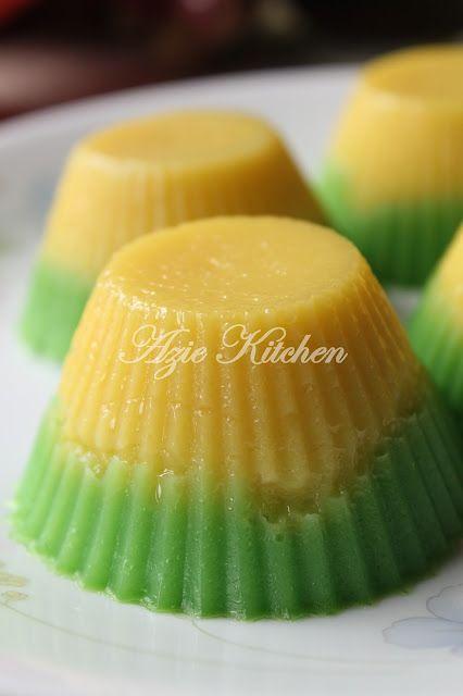 Azie Kitchen Kuih Talam Suji Pandan Afternoon Tea
