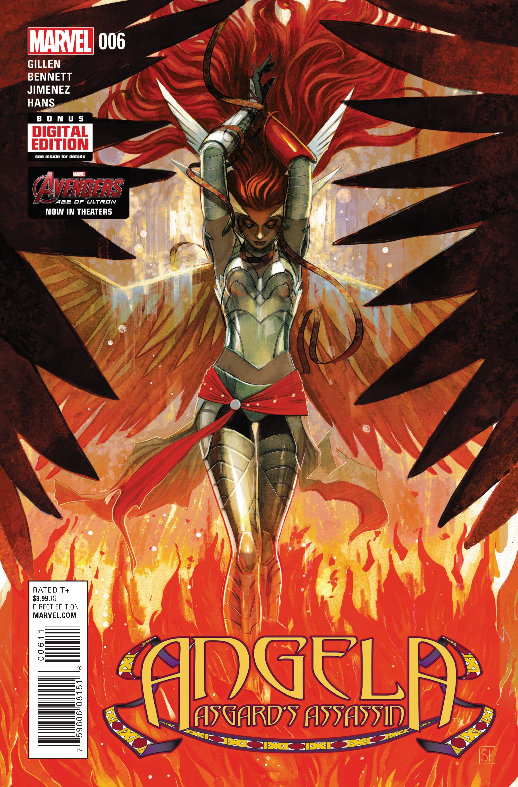 Preview: Angela: Asgard's Assassin #6,   Angela: Asgard's Assassin #6 Story: Kieron Gillen & Marguerite Bennett Art: Phil Jimenez Cover: Stephanie Hans Publisher: Marvel Publicat...,  #All-Comic #All-ComicPreviews #Angela:Asgard'sAssassin #Comics #KieronGillen #MargueriteBennett #Marvel #PhilJimenez #Previews #StephanieHans