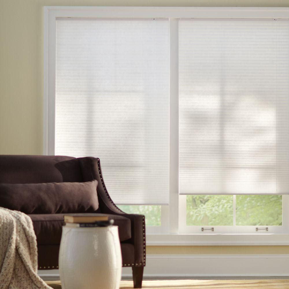Home Decorators Collection Snow Drift 9/16 in. Light Filtering ...
