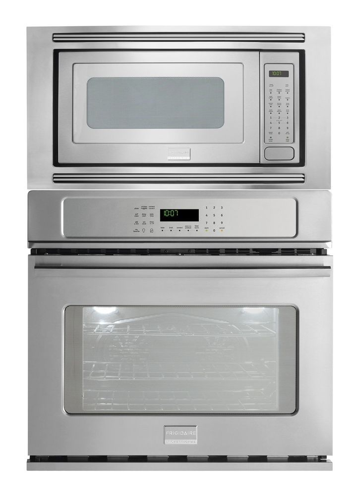 Frigidaire Professional 30 Stainless Steel Microwave Electric Wall Oven Combo