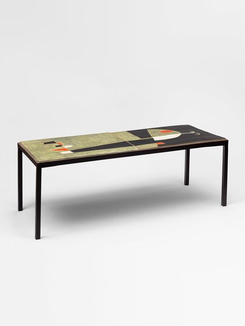 Andre Borderie Coffee Table 1957 Thomas Fritsch Artrium With Images Coffee Table Table Furniture Table