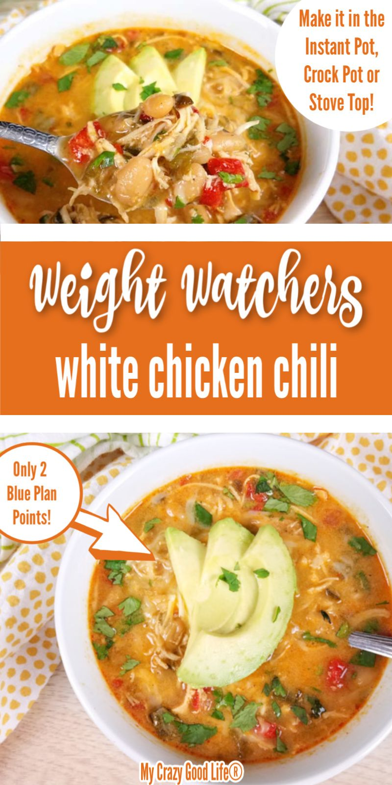 Healthy White Chicken Chili