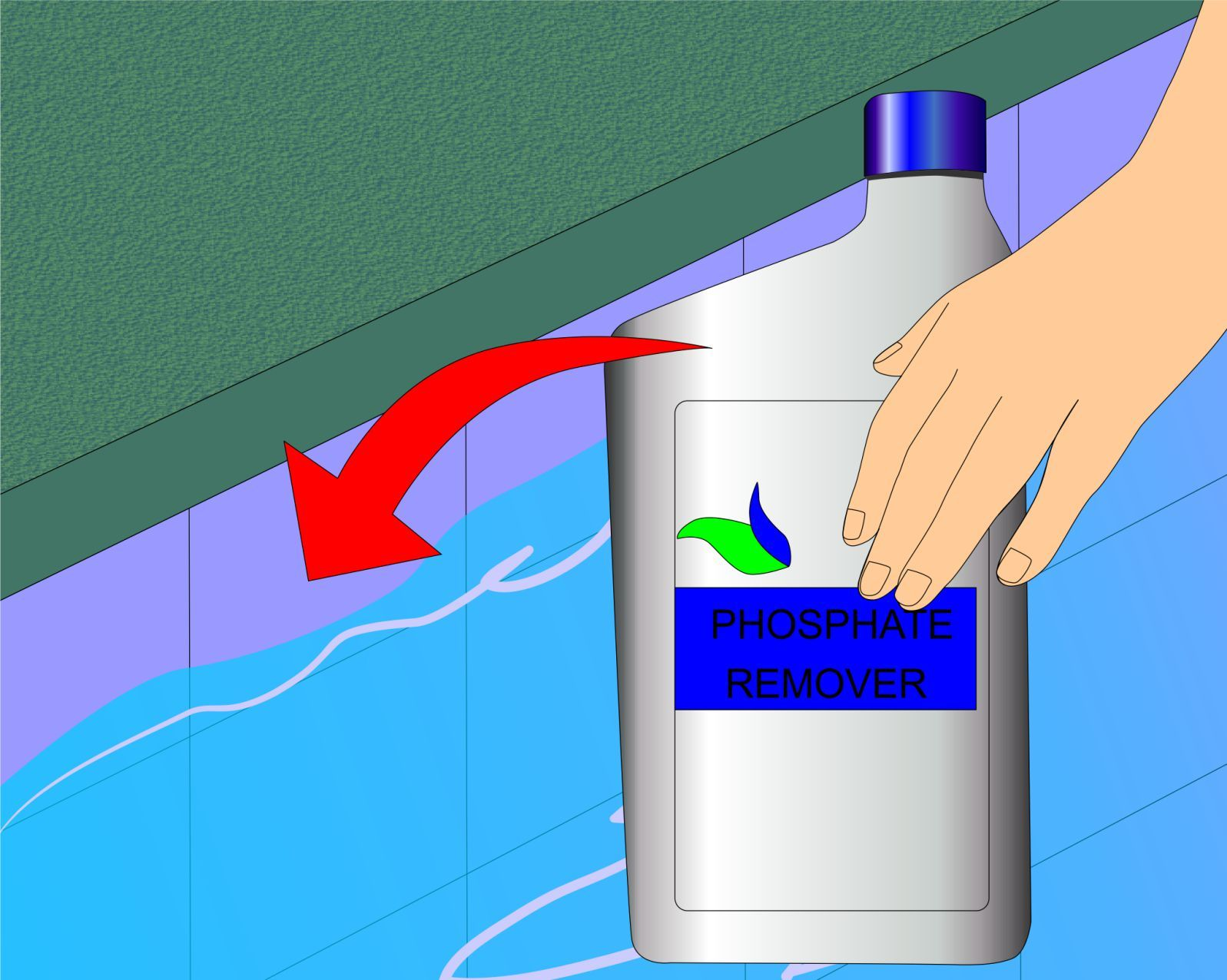 Eliminate and prevent green algae in a swimming pool diy - Swimming pool green water treatment ...