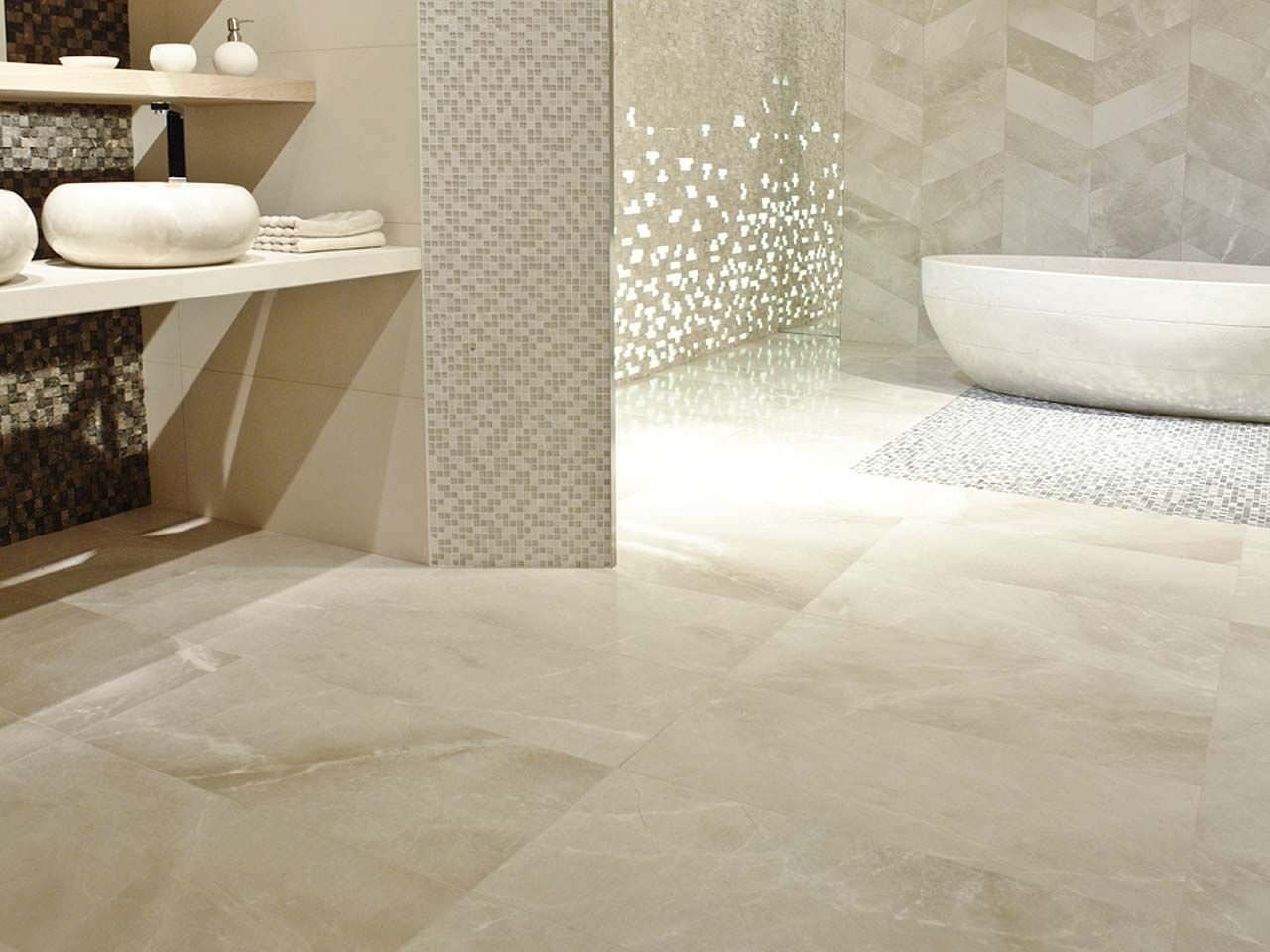 How to clean marble flooring like a pro home maintenance bathroom interior bathroom polished marble tile with curve bathtub and bathroom shelf elegant pictures of marble flooring ideas wooden cabinet towel dailygadgetfo Image collections