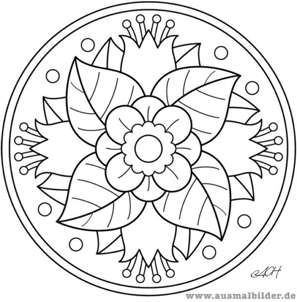 190 Mandalas para Colorear para niños | Manualidades | Pinterest ...