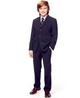 37931f6112c1 Calvin Klein Boys' suit. | For my little guy | Boys dress shirts ...