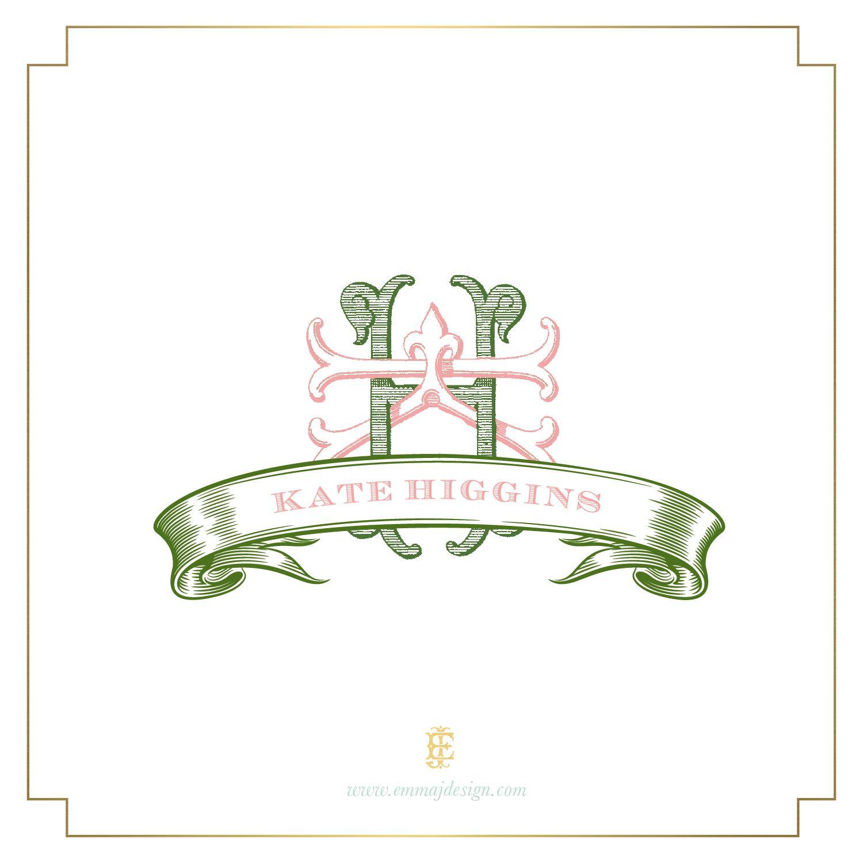 Couture Monograms | Emma J Design Custom Paper