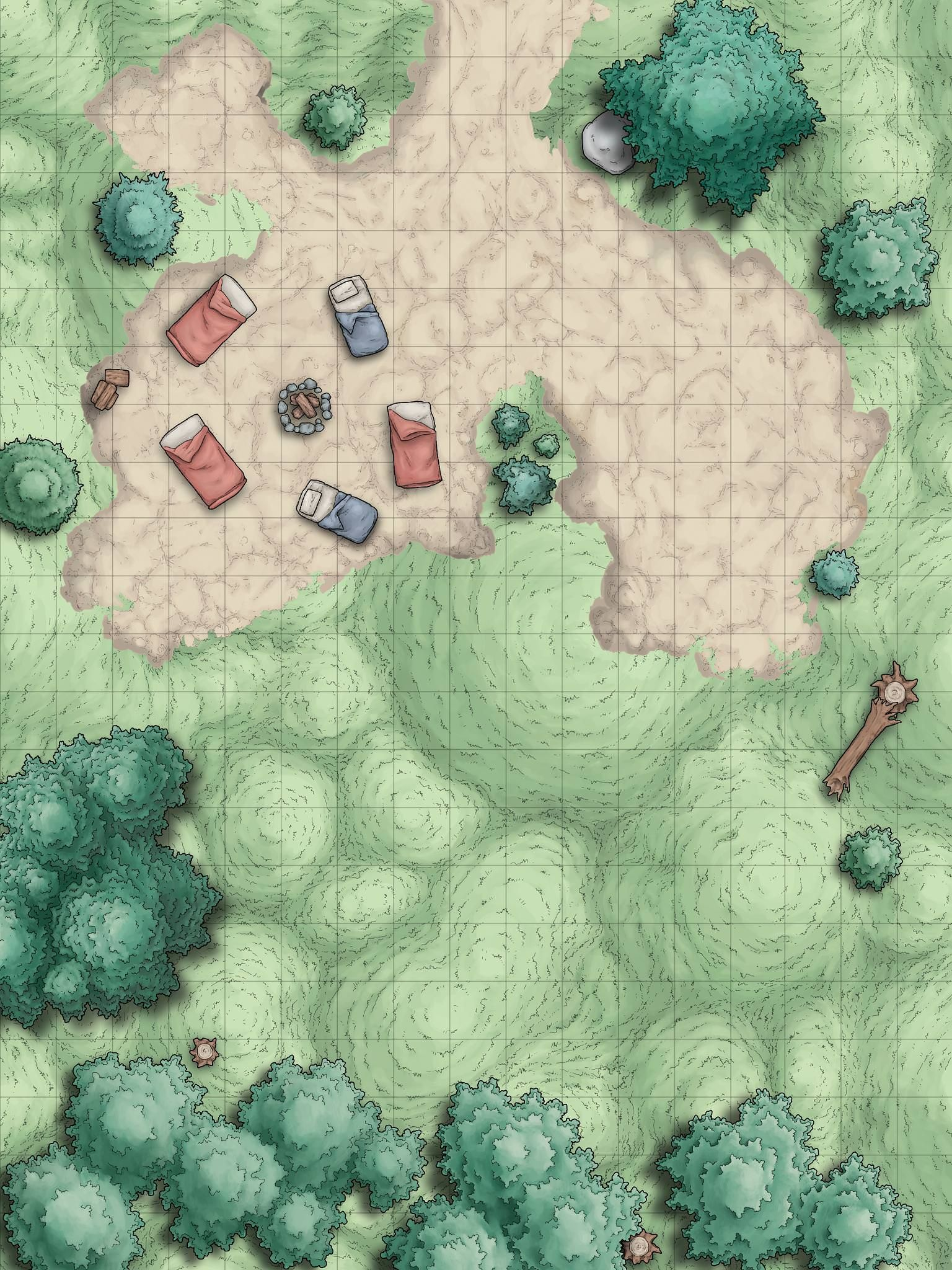 Random Encounter Battle Maps